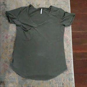 Z Supply Olive Green Shirt